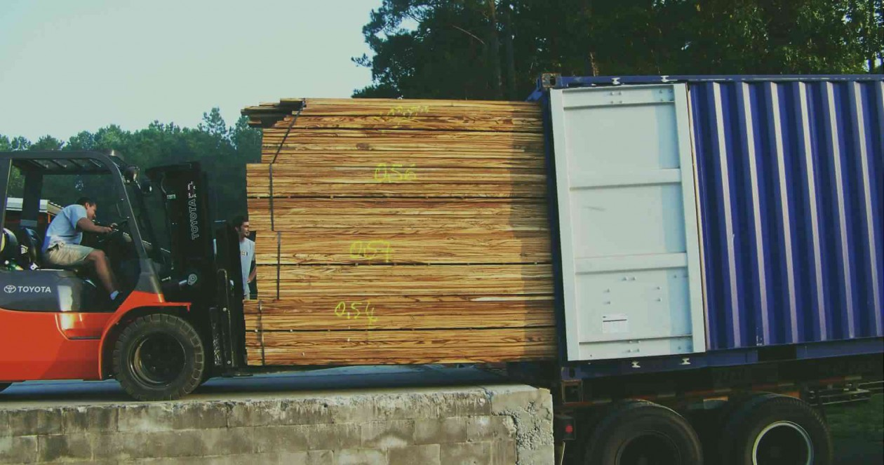 Beautiful Exotic Woods from World Timber Corp in Hubert NC